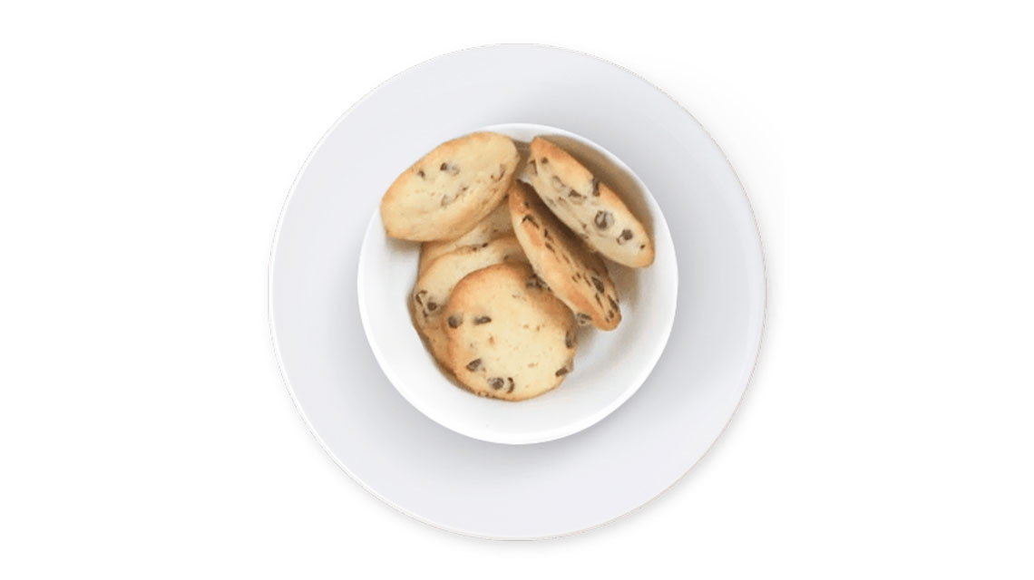 Receta fácil de cookies con chips de chocolate